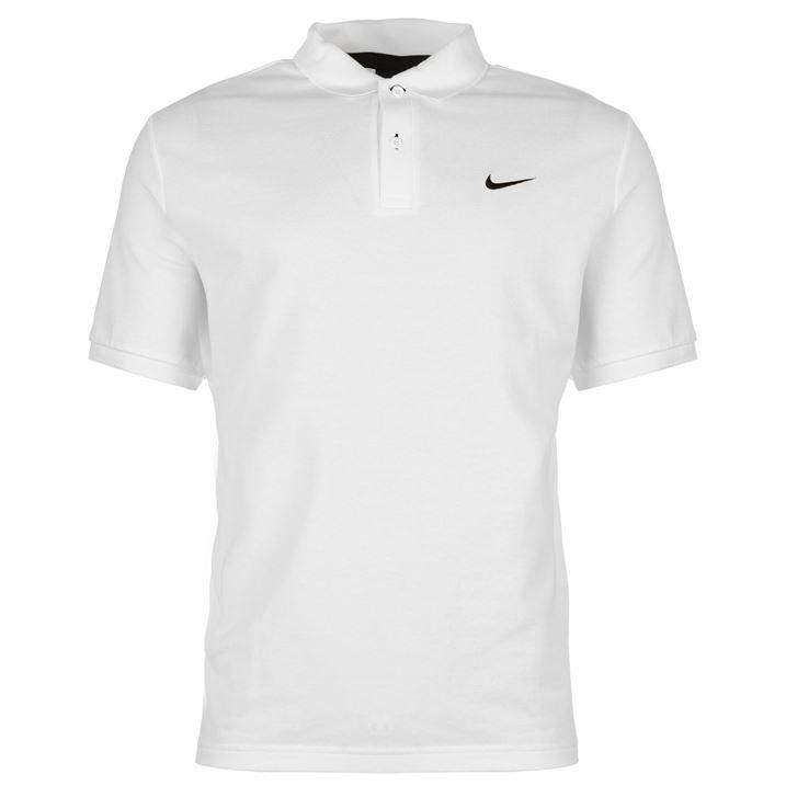 mens tennis polo shirt nike 100 pique cotton genuine uk