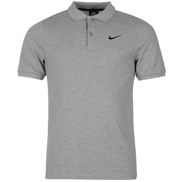 mens tennis polo shirt nike 100 pique cotton genuine uk